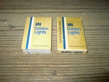 GOLDEN LIGHTS CIGARETTE ADVERTISING PLAYING CARDS LORILLARD