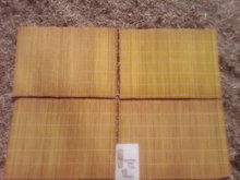 Formosa Tiki Islander Placemat Retro Yellow Bamboo Tikidom Island  Party Table Decoration
