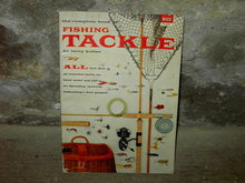 FISHING TACKLE GUIDE BOOK ROD REEL LURE GADGETS 1955 MACO MAGAZINE