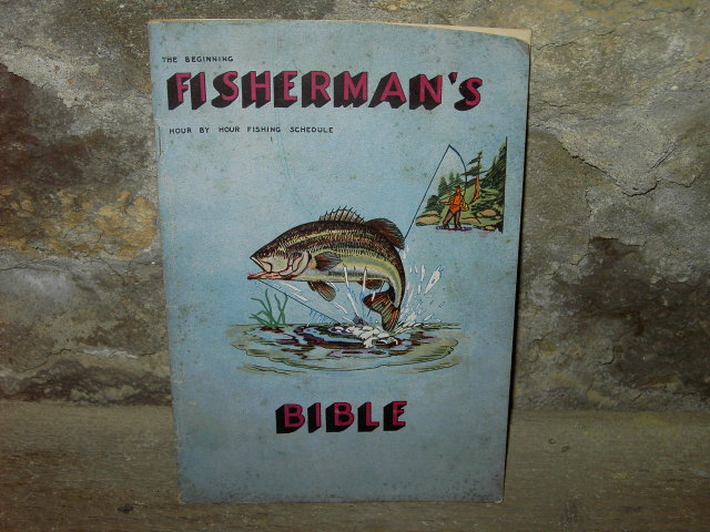 FISHERMANS BIBLE 1947 MARION INDIANA FISHING GUIDE BEGINNERS INFORMATION BOOKLET