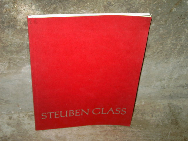 STEUBEN ART GLASS CATALOG PRICE LIST BOOK WINTER 1976 1977 MAIL ORDER GUIDE CORNING NEW YORK
