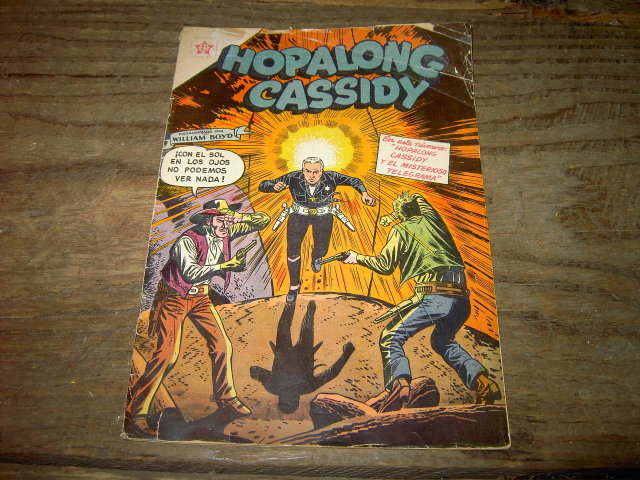 HOPALONG CASSIDY COMIC BOOK SPANISH VERSION COWBOY HERO