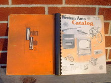 WESTERN AUTO CATALOG MAIL ORDER BOOK FALL WINTER 1957 1958 CONSUMER GUIDE CUSTOMER PUBLICATION
