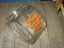 PHENIX SOUP BOUILLON CUBE STORE JAR GLASS DISPLAY CANNISTER ANCHOR HOCKING MARK