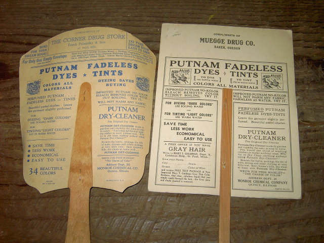BAKER OREGON ST PAUL NEBRASKA PUTNAM DYE TINT FAN