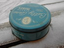 BETTY ANNE CREAMY MINT TIN CAN BEDDALL CANDY COLLINGSWOOD NEW JERSEY ADVERTISING
