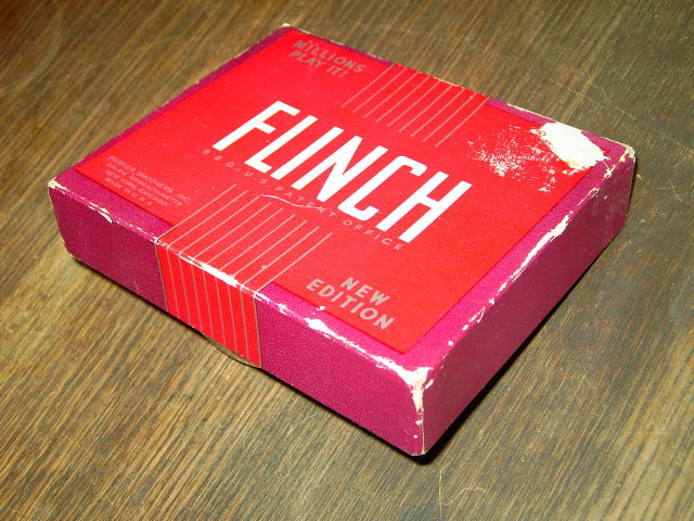 FLINCH PARKER BROTHERS CARD GAME COMPLETE SET ORIGINAL BOX INSTRUCTIONS