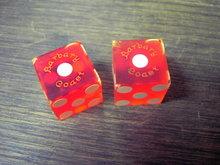BARBARY COAST DICE LAS VEGAS NEVADA CASINO GAMBLING HALL GAME PIECE