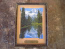 RAPELJE MONTANA SCENERY PICTURE MORGAN FAMILY ADVERTISING MIRROR LAKE RAINIER NATIONAL PARK