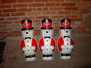 STROH'S BEER SNOWMAN WINTER BEVERAGE PROMOTION ADVERTISING FIGURE