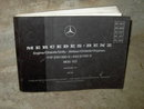 MERCEDES BENZ CATALOG 1980 OWNERSHIP MANUAL PARTS SERVICE BOOKLET TYPE 230 280E 240D 300D MODEL 123