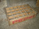 MASON CITY IOWA BOX PEPSI COLA SOFT DRINK BOTTLE TOTE CARRIER CASE CRATE FLOUR CITY MINNEAPOLIS MINNESOTA