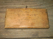 VICTOR BRUSH MALLORY ALBION NEW YORK SHEEP WOOL COMB FARM TOOL