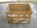 NIAGARA FALLS NEW YORK WOOD BOX SHREDDED WHOLE WHEAT CRATE SHIPPING CASE