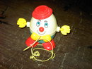 HUMPTY DUMPTY FISHER PRICE PULL TOY
