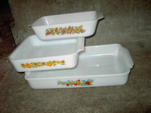 FIREKING BAKING DISH LOAF CASSEROLE PAN OVEN GLASS