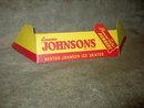 NESTOR JOHNSON ICE SKATE SIGN DIAMOND TESTED RUNNERS STORE DISPLAY CARD