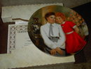 ORPHAN ANNIE GRACE COLLECTORS PLATE KNOWLES CHINA CERTIFICATE BOX