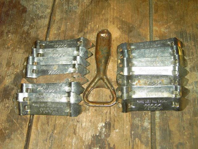 PABST BLUE RIBBON COORS BEER BOTTLE OPENER CAN POPPER BAR UTENSIL