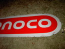 CONOCO OIL COMPANY PORCELAIN SIGN SERVICE STATION ADVERTISING