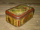 ROYALTY SCENE SWEET BISQUIT TIN CAN CONFECTIONERY CANNISTER