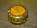 RAWLEIGHS ANTISEPTIC SALVE CAN FREEPORT ILLINOIS ADVERTISING TIN TUB
