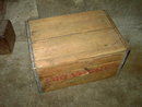 CANADA DRY CRATE WOODEN BEVERAGE BOTTLE TOTE CARRIER CASE