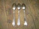 STERLING SILVER SPOON DECORATIVE VICTORIAN UTENSIL