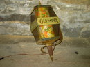 OLY OLYMPIA BEER LIGHT WALL LANTERN BAR LAMP FESTIVE SPRING FLORAL FLOWER CONE INSERT
