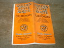 CALIFORNIA GOLDEN STATE ROUTE TRAIN TRAVEL BROCHURE ROCK ISLAND EL PASO SOUTHWESTERN SOUTHERN PACIFIC LINE BOOKLET