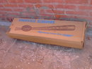 LOUISVILLE SLUGGER HILLERICH BRADSBY BASEBALL BAT BOX CARDBOARD ADVERTISING CRATE