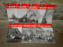 MILTARY ENGINEER MAGAZINE ARMED FORCES PUBLCATION 1961 1962
