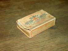 BLAKES HERB TABLET BOX LAXATIVE DRUG ADVERTISING INTERNATIONAL BOSTON MASSACHUSETTS