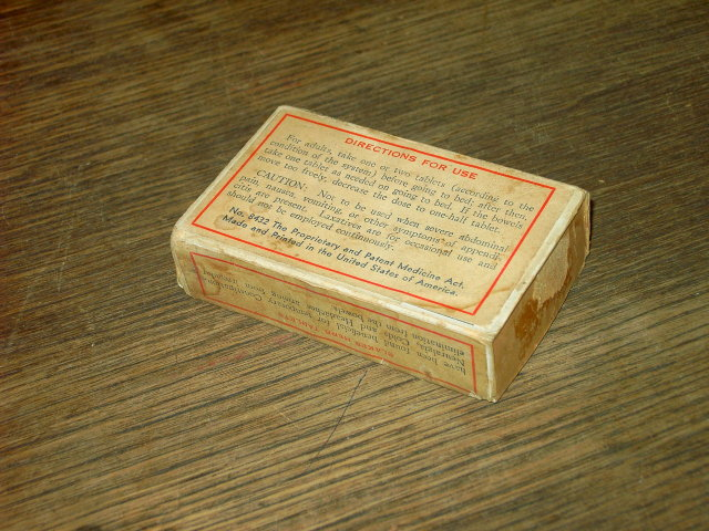 BLAKES HERB ROOT BARK TABLET CARDBOARD BOX LAXATIVE DRUG ADVERTISING INTERNATIONAL BOSTON MASSACHUSETTS