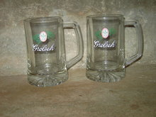 HOLLAND DUTCH GROLSCH GLASS BEER MUG BAR UTENSIL