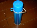 PICNIC BOTTLE RETRO THERMOS BEVERAGE JUG 1974 KING SEELEY NORWICH CONNECTICUT