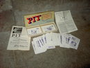 PARKER BROTHERS PIT CARD GAME 1947 INSTRUCTION FLYER PAMPHLETS