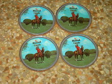 MONTREAL CANADA CANADIAN MOUNTY DRINK COASTER BAR UTENSIL SET