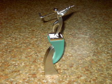 GOLF STATUE GOLFERS TROPHY MANTEL DECORATION