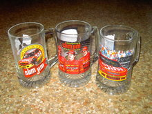 NASCAR AUTO RACING MUG SLIM JIM TERRY LABONTE CAR