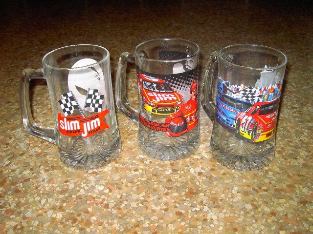 NASCAR AUTO RACING MUG SLIM JIM TERRY LABONTE CAR