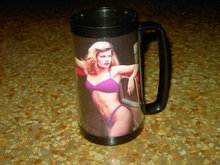 MATCO TOOL PIN UP GIRL MUG THERMO SERV CLASSIC CAR CUP