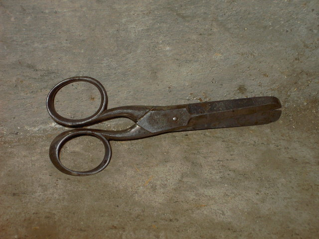 KEEN KUTTER SCISSORS SIMMONS HARDWARE GERMANY ADVERTISING 5 INCH CUTTING TOOL