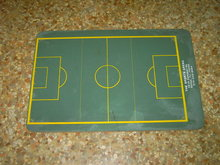 DALLAS TEXAS SPORTS ARENA COACHES CHALKBOARD PLAY DIAGRAM BOARD