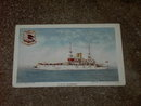 U S S ALABAMA NAVY BATTLESHIP JAMESTOWN EXPOSITION 1907 POSTCARD