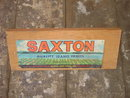 SAXTON CALDWELL IDAHO FRUIT CRATE LABEL BOARD