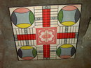 PARCHEESI GAME BOARD SELCHOW RIGHTER PUBLISHERS NEW YORK ADVERTISING