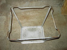 STEEL WIRE KITCHEN STOOL FOOT BENCH STEP SEAT