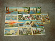 SAN FRANCISCO CALIFORNIA POSTCARD TOURIST TOURISM MAIL CARD