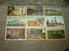 VIRGINIA FAMOUS LANDMARK PICTURE POSTCARD TOURIST CARD